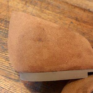 GAP Shoes - Gap Faux Suede D'orsay Flats